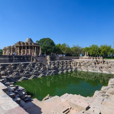 DEST_INDIA_AHMEDABAD_Sun Temple Modhera with Beautiful Stepwell in Ahmedabad_GettyImages-531486603_Universal_Within usage period_32012
