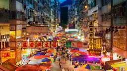Find cheap flights from Incheon to Hong Kong