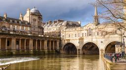 Bath hotels near Pulteney Bridge