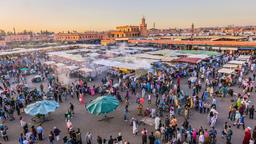 Marrakesh hotels near Souk Laghzel