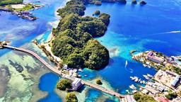 Find cheap flights from Auckland to Palau