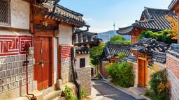Find cheap flights to South Korea