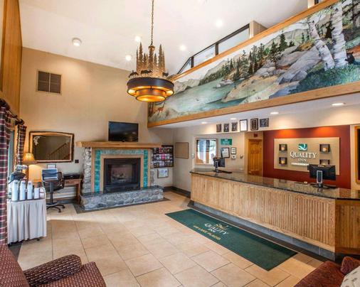Quality Inn on Lake Placid - Lake Placid - Lobby