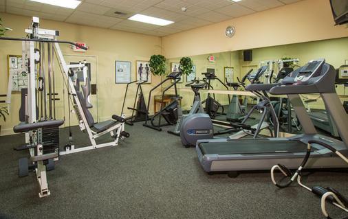 Coast International Inn - Anchorage - Gym