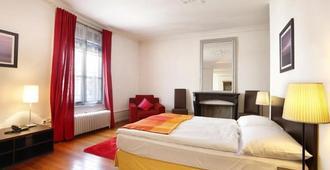 Torhôtel Genève - Geneva - Bedroom