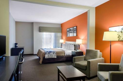 Sleep Inn & Suites East Chase - Montgomery - Bedroom