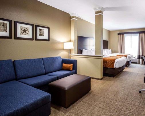Comfort Suites Northwest - Cy - Fair - Houston - Bedroom