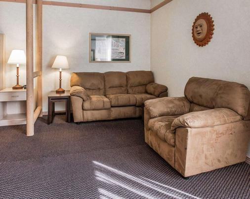 Quality Suites - Moab - Living room
