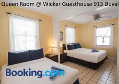 Wicker Guesthouse - Key West - Bedroom