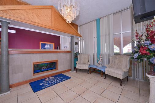 Americas Best Value Inn & Suites - Kansas City - Kansas City - Lobby