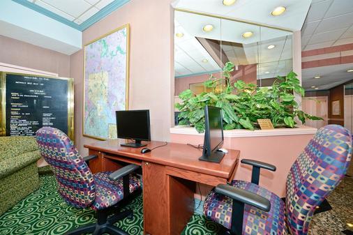 Americas Best Value Inn Baltimore - Baltimore - Business centre