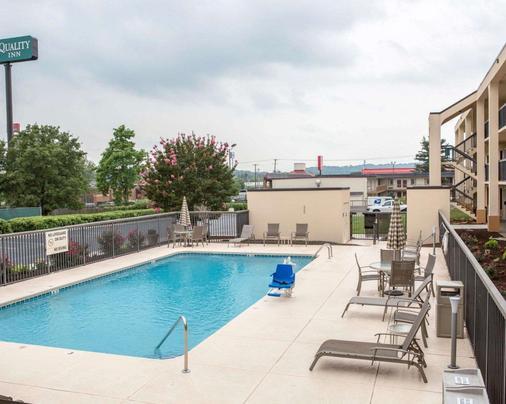 Quality Inn Merchants Drive - Knoxville - Pool