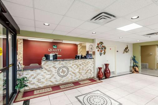 Quality Inn near SeaWorld - Lackland - San Antonio - Lobby