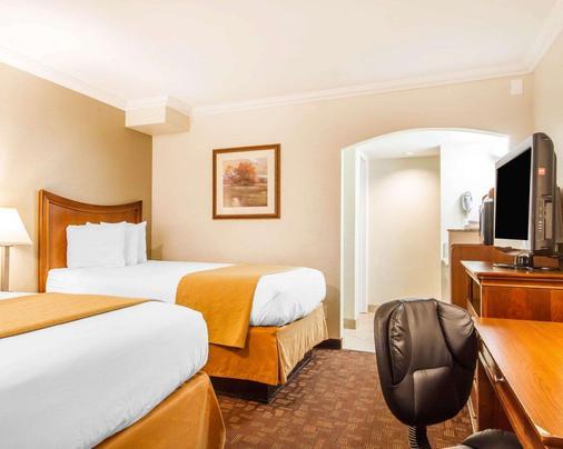 Quality Inn Sacramento Convention Center - Sacramento - Bedroom