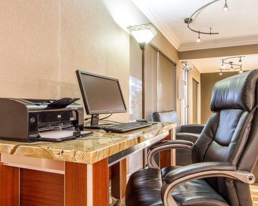 Quality Inn Sacramento Convention Center - Sacramento - Business centre