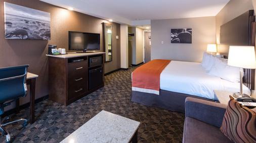 Best Western Northgate Inn - Nanaimo - Bedroom