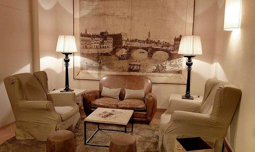 Hotel Sempione - Florence - Living room