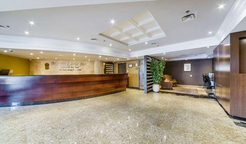 Monte Carlo Inn Airport Suites - Mississauga - Front desk