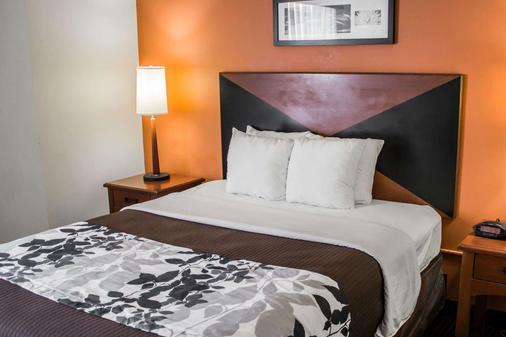 Sleep Inn Gateway - Savannah - Bedroom