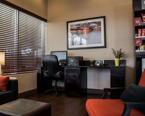 Comfort Suites Clearwater - Dunedin - Clearwater - Business centre
