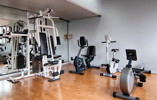 La Tour Belvedere Apartment Hotel - Montreal - Gym