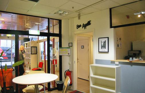 City Lodge Hostel - Stockholm - Front desk