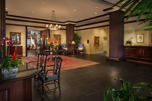 Washington Duke Inn & Golf Club - Durham - Lobby