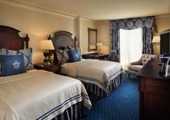 Washington Duke Inn & Golf Club - Durham - Bedroom