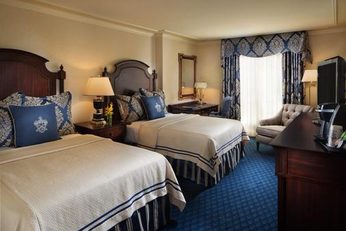 Washington Duke Inn & Golf Club - Durham - Bedroom