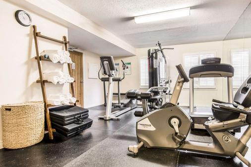 Quality Inn Airport West - Mississauga - Gym