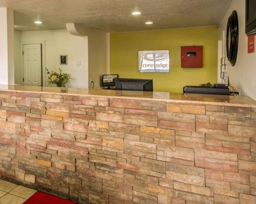 Econo Lodge East - Albuquerque - Lobby