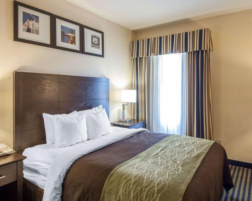 Quality Inn Tulsa-Downtown West - Tulsa - Bedroom