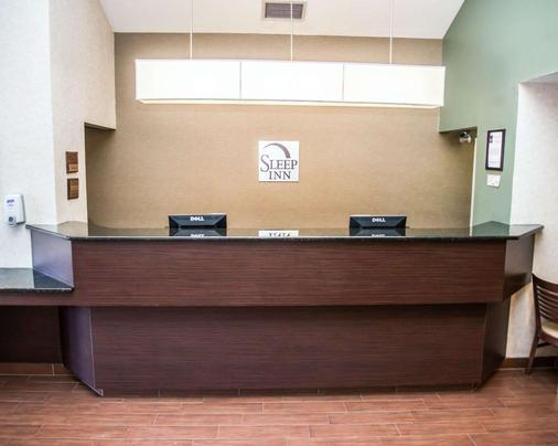 Sleep Inn University Place - Charlotte - Front desk
