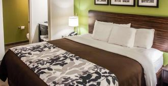Sleep Inn & Suites I-70 at Wanamaker - Topeka - Bedroom