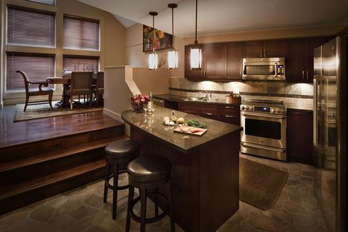 Executive - The Inn at Whistler Village - Whistler - Kitchen