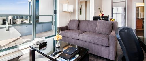 Executive Hotel Vancouver Airport - Richmond - Living room