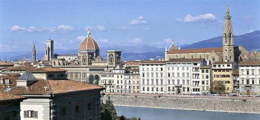 Plaza Hotel Lucchesi - Florence - Outdoor view