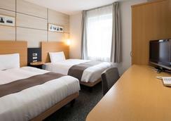 Comfort Hotel Tokyo Higashi Nihombashi - Tokyo - Bedroom