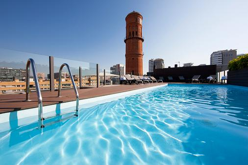 Hotel Attica 21 Barcelona Mar - Barcelona - Pool
