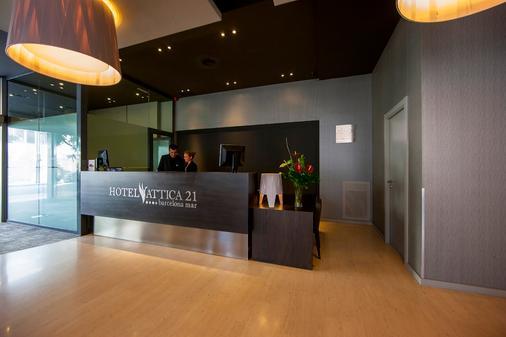 Hotel Attica 21 Barcelona Mar - Barcelona - Front desk
