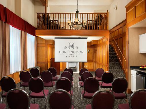 Huntingdon Manor Hotel - Victoria - Meeting room
