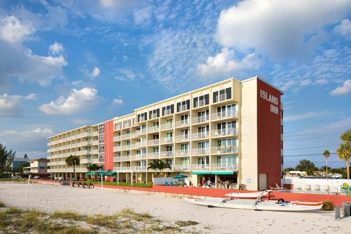 Island Inn Beach Resort - Treasure Island - Building