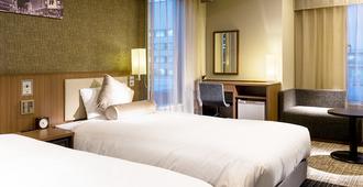 Hotel Unizo Tokyo Ginza-itchome - Tokyo - Bedroom
