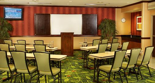 Fairfield Inn and Suites by Marriott Salt Lake City Airport - Salt Lake City - Meeting room