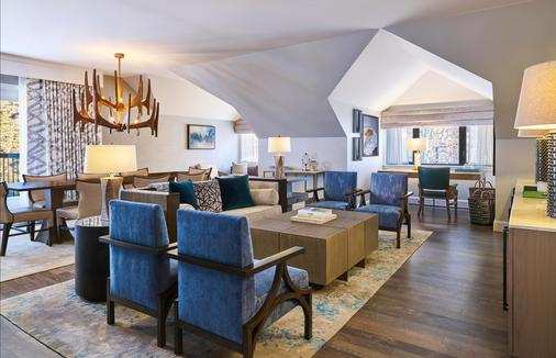 Hotel Talisa, A Luxury Collection Resort, Vail - Vail - Living room
