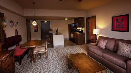 Disney's Animal Kingdom Villas - Kidani Village - Lake Buena Vista - Living room