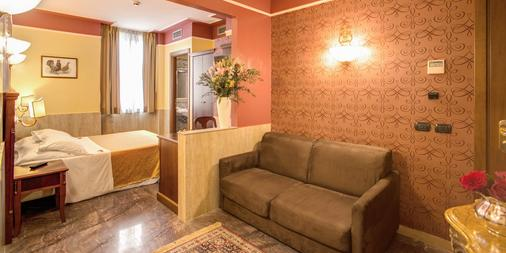 Aurelius Art Gallery Hotel - Rome - Living room