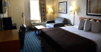Deluxe Inn Fayetteville - Fayetteville - Bedroom