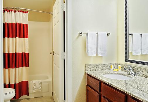 Residence Inn by Marriott Tampa North/I-75 Fletcher - Tampa - Bathroom