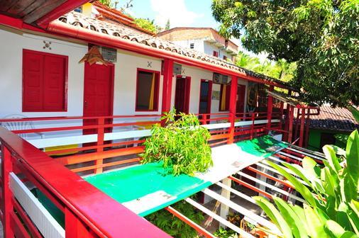 Hi Hostel & Pousada do Reggae - Morro de Sao Paulo - Balcony